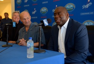 Mark Walter, Stan Kasten, Magic Johnson