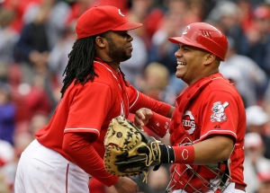 Johnny Cueto, Brayan Pena